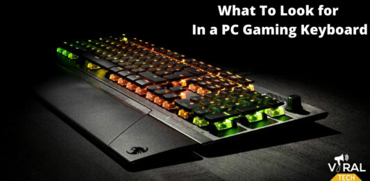 What To Look for In a PC Gaming Keyboard