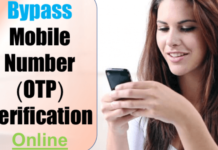 ByPass Otp Through Virtual Number - Theviraltechs.com