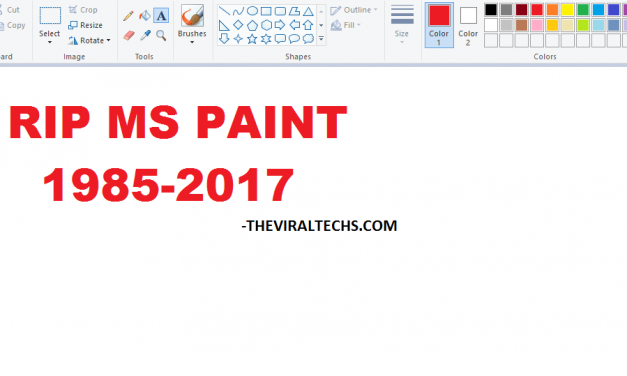 RIP MS Paint – Microsoft Paint is getting killed off in the Windows New Update