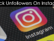 instagram unfollwers