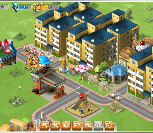 The latest simulation game: develop a city online at Ramacity!